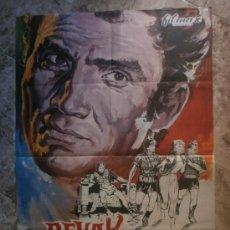 Cine: REVAK, EL REBELDE. JACK PALANCE, MILLY VITALE. AÑO 1972.. Lote 34947293
