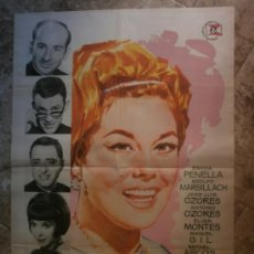 Cine: ALEGRE JUVENTUD - EMMA PENELLA, ADOLFO MARSILLACH, JOSE LUIS OZORES - AÑO 1963. Lote 118252643