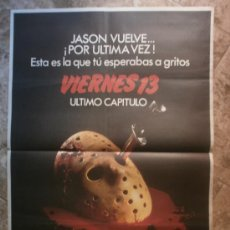 Cine: VIERNES 13. KIMBERLY BECK, PETER BARTON, CRISPIN GLOVER. AÑO 1984.. Lote 35007683