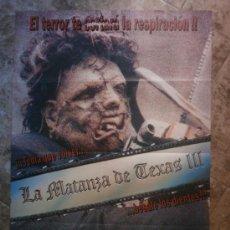 Cine: LA MATANZA DE TEXAS III. KIM HENKEL, TOBE HOOPER.. Lote 35008028