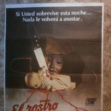 Cine: EL ROSTRO DE LA MUERTE. PAULA SHEPPARD, BROOKE SHIELDS, LINDA MILLER. AÑO 1979.. Lote 35008232