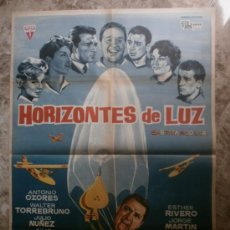 Cine: HORIZONTES DE LUZ - ANTONIO OZORES, JULIO NUÑEZ, WALTER TORREBRUNO. AÑO 1962. Lote 86029048