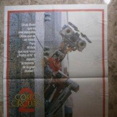 Cine: CORTOCIRCUITO 2. FISHER STEVENS, MICHAEL MCKEAN, CYNTHIA GIBB. AÑO 1988.. Lote 69610494