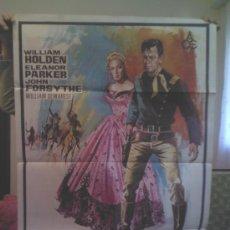 Cine: FORT BRAVO (1954) JOHN STURGES, WILLIAM HOLDEN, ELEANOR PARKER. Lote 35027463