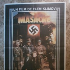 Cinema: MASACRE.. Lote 35045985