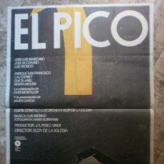 Cine: EL PICO - JOSE LUIS MANZANO, JOSE M. CRVINO, LUIS IRIONDO - AÑO 1983. Lote 116517862