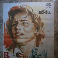 Cine: EL ULTIMO PUENTE. MARIA SCHELL, BARBARA RUTTING, BERNHARD WICKI. AÑO 1964.. Lote 35053568