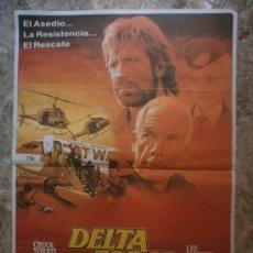 Cine: DELTA FORCE. CHUCK NORRIS, LEE MARVIN. AÑO 1986. . Lote 35079724