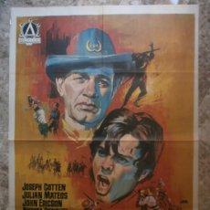 Cine: LOS DESPIADADOS. JOSEPH COTTEN, JULIAN MATEOS, ANGEL ARANDA. AÑO 1967.. Lote 117348207