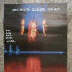 Cine: LINEA MORTAL. KIEFER SUTHERLAND, JULIA ROBERTS, KEVIN BACON. AÑO 1990.. Lote 35167409