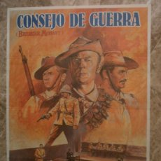 Cinema: CONSEJO DE GUERRA. EDWARD WOODWARD, JACK THOMPSON. AÑO 1982.. Lote 35168451