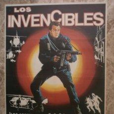 Cine: LOS INVENCIBLES. LEWIS COLLINS, JUDY DAVIS, RICHARD WIDMARK. AÑO 1982.. Lote 35168523