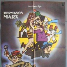 Cine: UNA NOCHE EN CASABLANCA,HEMANOS MARX CARTEL DE CINE ORIGINAL 70X100 APROX (6338). Lote 35188847
