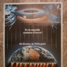 Cinéma: LIFEFORCE, FUERZA VITAL. STEVE RAILSBACK, PETER FIRTH, FRANK FINLAY. AÑO 1985.. Lote 35188869