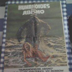 Cine: CARTEL HUMANOIDES DEL ABISMO (1980) BARBARA PEETERS DOUG MCCLURE. Lote 35192750