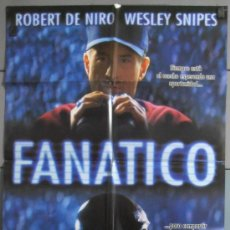 Cine: FANATICO,ROBERT DE NIRO CARTEL DE CINE ORIGINAL 70X100 APROX (6433). Lote 35216205