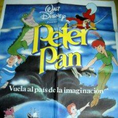 Cine: PETER PAN - WALT DISNEY - POSTER 70 X 100 CMS. DE FILMAYER. Lote 35234657