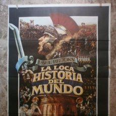 Cine: LA LOCA HISTORIA DEL MUNDO. MEL BROOKS', DOM DELUISE, MADELINE KAHN. AÑO 1981.. Lote 35242098