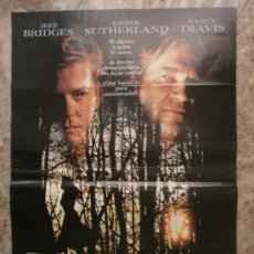 Cine: SECUESTRADA. JEFF BRIDGES, KIEFER SUTHERLAND, NANCY TRAVIS. AÑO 1993.. Lote 35275650