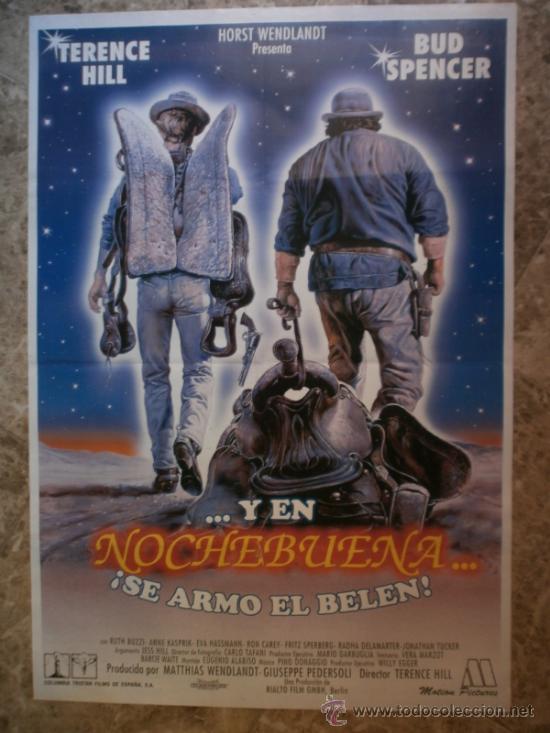 ...Y EN NOCHEBUENA...¡ SE ARMO EL BELEN ! TERENCE HILL, BUD SPENCER. (Cine - Posters y Carteles - Westerns)