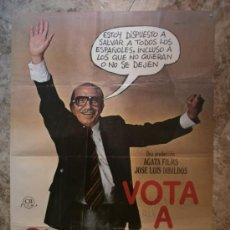 Cine: VOTA A GUNDISALVO. ANTONIO FERRANDIS, EMILIO GUTIERRES CABA, SILVIA TORTOSA. AÑO 1977.. Lote 35309854