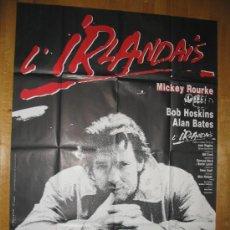 Cine: POSTER ORIGINAL FRANCES - REQUIEM POR LOS QUE VAN A MORIR - MICKEY ROURKE - BOB HOSKINS MIKE HODGES. Lote 35378105