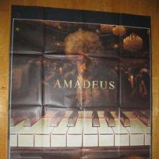 Cine: POSTER ORIGINAL FRANCES - AMADEUS - MILOS FORMAN - WOLFGANG AMADEUS MOZART. Lote 35427977