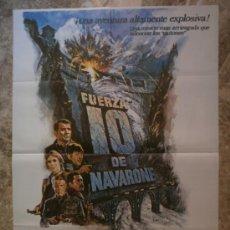 Cine: FUERZA 10 DE NAVARONE - ROBERT SHAW, HARRISON FORD, BARBARA BACH. AÑO 1982. Lote 86256910