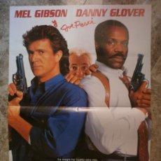Cinéma: ARMA LETAL 3. MEL GIBSON, DANNY GLOVER. AÑO 1992.. Lote 35410325