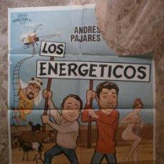 Cine: LOS ENERGETICOS. ANDRES PAJARES, FERNANDO ESTESO, ANTONIO OZORES. AÑO 1979.. Lote 35424365