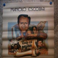 Cine: TODO ES POSIBLE EN GRANADA. MANOLO ESCOBAR, TESSA HOOD, MANOLO GOMEZ BUR.. Lote 296697518