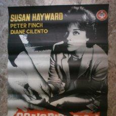 Cine: CONSPIRACION PARA MATAR. SUSAN HAYWARD, PETER FINCH, DIANE CILENTO. AÑO 1962.. Lote 35448504
