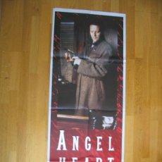 Cine: POSTER ORIGINAL FRANCES - EL CORAZÓN DEL ÁNGEL - MICKEY ROURKE MODELO 2 FORMATO 58 X 157 CM. Lote 35450155
