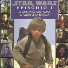 Cine: STAR WARS EPISODIO I LA AMENAZA FANTASMA ( GAVIOTA ) ORIGINAL 1999. Lote 35474160