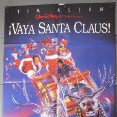 Cine: ¡VAYA SANTA CLAUS!,DISNEY CARTEL DE CINE ORIGINAL 70X100 APROX (6958). Lote 35498184