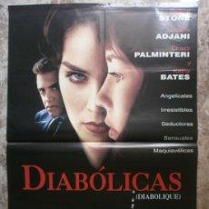 Cine: DIABOLICAS. SHARON STONE, ISABELLE ADJANI, CHAZZ PALMINTERI, KATHY BATES. AÑO 1994.. Lote 35509487
