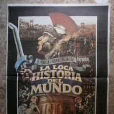 Cine: LA LOCA HISTORIA DEL MUNDO. MEL BROOKS', DOM DELUISE, MADELINE KAHN. AÑO 1981.. Lote 35509605