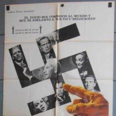Cinéma: EL JUICIO DE NUREMBERG,SPENCER TRACY, BURT LANCASTER CARTEL DE CINE ORIGINAL 70X100 APROX (7062). Lote 35512711