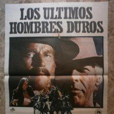 Cine: LOS ULTIMOS HOMBRES DUROS. CHARLTON HESTON, JAMES COBURN. AÑO 1976.. Lote 35515167