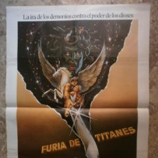 Cinéma: FURIA DE TITANES. HARRY HAMLIN, JUDI BOWKER, BURGESS MEREDITH. AÑO 1981.. Lote 35515543