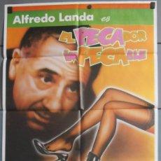 Cine: EL PECADOR IMPECABLE,ALFREDO LANDA CARTEL DE CINE ORIGINAL 70X100 APROX (7250). Lote 35527783