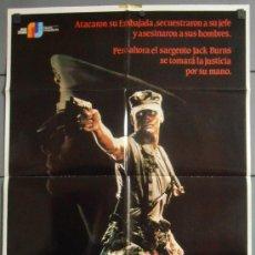 Cinéma: MUERTE ANTES QUE DESHONOR, CARTEL DE CINE ORIGINAL 70X100 APROX (7269). Lote 35527876