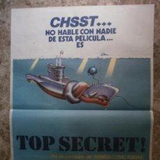 Cine: TOP SECRET! VAL KILMER, LUCY GUTTERIDGE. AÑO 1984.. Lote 35528533