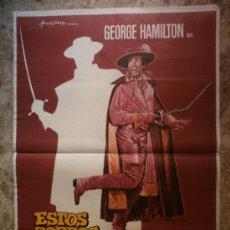 Cine: ESTOS ZORROS...LOCOS, LOCOS, LOCOS. GEORGE HAMILTON. AÑO 1982.. Lote 35530182