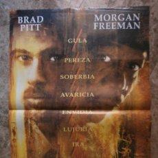 Cine: SEVEN. BRAD PITT, MORGAN FREEMAN. . Lote 35531603
