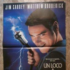 Cine: UN LOCO A DOMICILIO. JIM CARREY, MATTHEW BRODERICK. AÑO 1998.. Lote 35531768