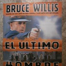 Cine: EL ULTIMO HOMBRE. BRUCE WILLIS, BRUCE DERN, CHRISTOPHER WALKEN. AÑO 1996.. Lote 35545013