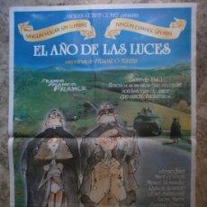 Cine: EL AÑO DE LAS LUCES. JORGE SANZ, MARIBEL VERDU. AÑO 1986.. Lote 35550545