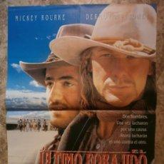 Cine: EL ULTIMO FORAJIDO. MICKEY ROURKE, DERMOT MULRONEY. AÑO 1994.. Lote 262691560