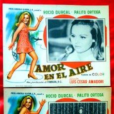 Cine: AMOR EN EL AIRE 1967 (COLECCION DE 6 LOBBY CARD ROCIO DURCAL (MARIETA). Lote 35565425